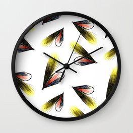 Munroe Killer Fishing Fly Wall Clock