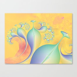 Baby Room Spiral Canvas Print