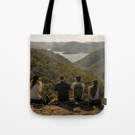 Looking toward Berowra Creek from Muogamarra Nature Reserve, Sydney Tote Bag