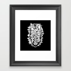 Monster Friends Framed Art Print