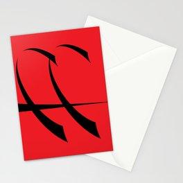 leaff [ redrawn ] ligature Stationery Cards