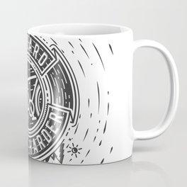 Ride Harder B&W Coffee Mug