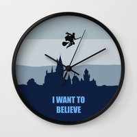 i want to believe Wall Clocks featuring I Want To Believe by aleha