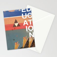 Education - prepare for your mind to be blown Stationery Cards