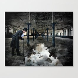 End of an Era Canvas Print