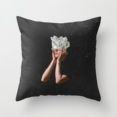 Crystal Visions I Throw Pillow