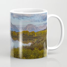 Images USA Elwha River Olympic National Park Nature Autumn Forests stone river forest Stones Rivers Coffee Mug