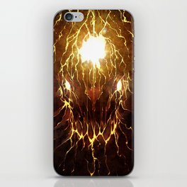 Let Rise the Inferno iPhone Skin