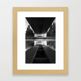 Hop And Die Framed Art Print