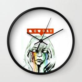 LONELY HEARTS Wall Clock
