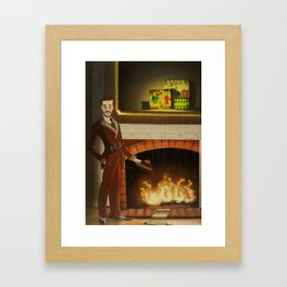 No.2 Christmas Series 1 - The Early-Mid Years Framed Art Print