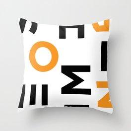 Don't Copy Throw Pillow