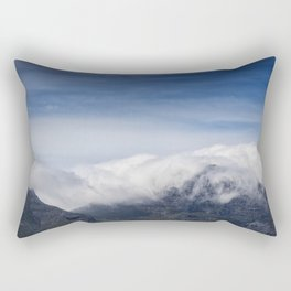 Clouds on Table Mountain Rectangular Pillow
