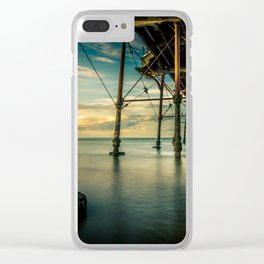 Deep Rising Clear iPhone Case