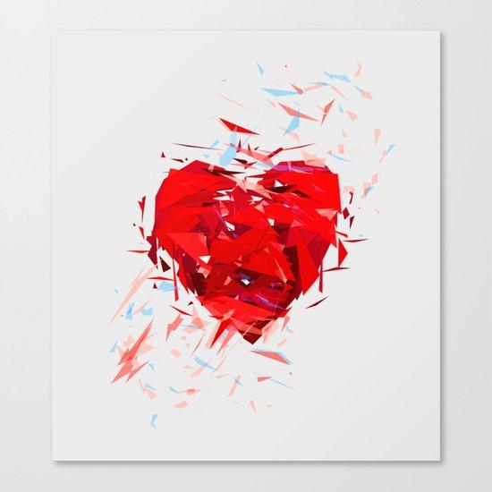 Fragile Heart Canvas Print