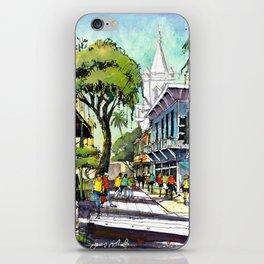 Duval Street, Key West iPhone Skin