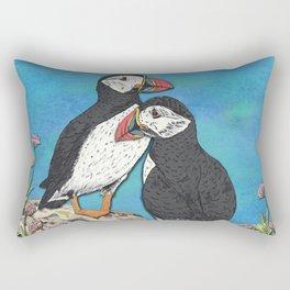 Puffin Perfection Rectangular Pillow