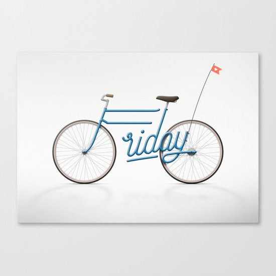 Lovely Friday Canvas Print