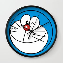 Doraemon Smile Wall Clock