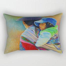 Bajo el sol de Arequipa Rectangular Pillow