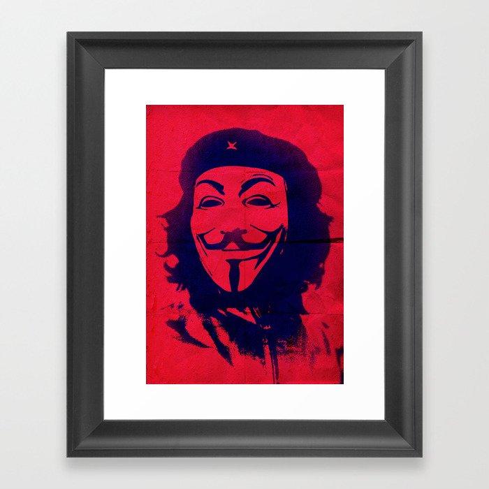 Expect Che Framed Art Print