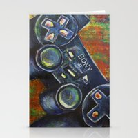 playstation Stationery Cards featuring Playstation  by Megan Bailey Gill