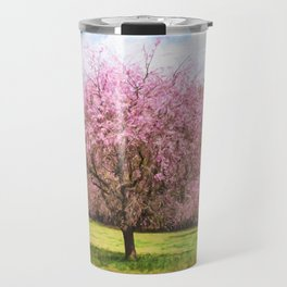 Beautiful cherry blossoms Travel Mug