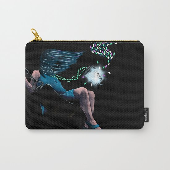 Aurora's Lights Carry-All Pouch
