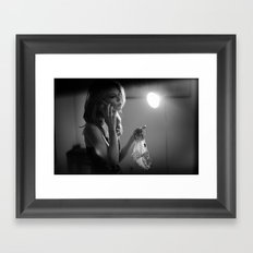 they're not mine Framed Art Print
