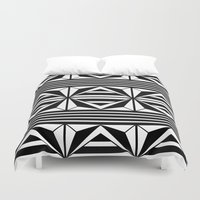 prism Duvet Covers featuring Prism by MANYOUFACTURE