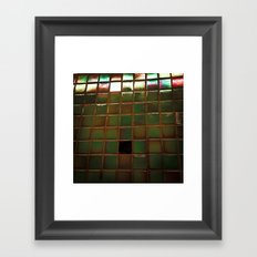 City Scales Framed Art Print