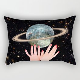 Saturn Disco Rectangular Pillow