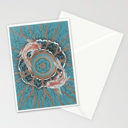Koi of Chaos Stationery Cards