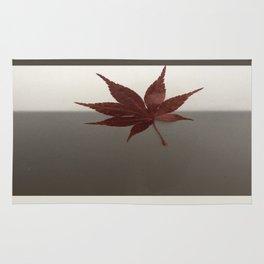 Last Leaf of Autumn Rug
