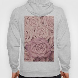 Some People Grumble - Pink Rose Pattern - Roses Hoody