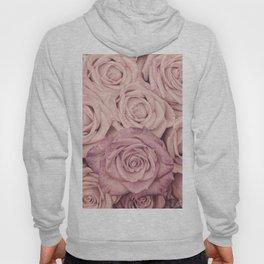 Some People Grumble - Pink Rose Pattern - Roses Hoody