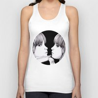 mirror Tank Tops featuring MIRROR by Dianah B