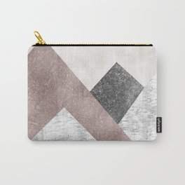 Rose grunge - mountains Carry-All Pouch