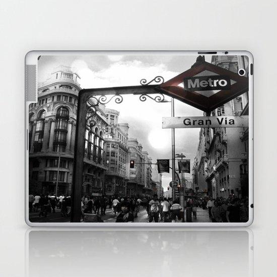 Gran Via-Madrid Laptop & iPad Skin