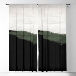 Abstract Oil Painting No. 88 Blackout Curtain