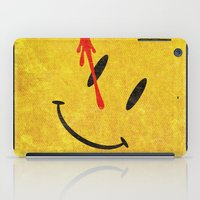 watchmen iPad Cases featuring The Watchmen (Super Minimalist series) by Itomi Bhaa