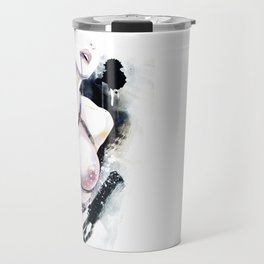 Shibari - Japanese BDSM Art Painting Travel Mug