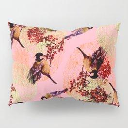 Little Blue Birds Pillow Sham