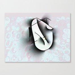 Thinking Chair Canvas Print