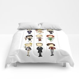 Who-dun-it? Comforters
