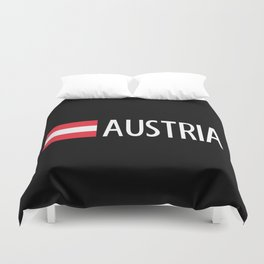 Austria: Austrian Flag & Austria Duvet Cover