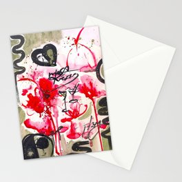 lychee martini jazz Stationery Cards