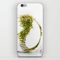 dragon ball iPhone & iPod Skins featuring Dragon Moss ball baseball by Surface Maximus
