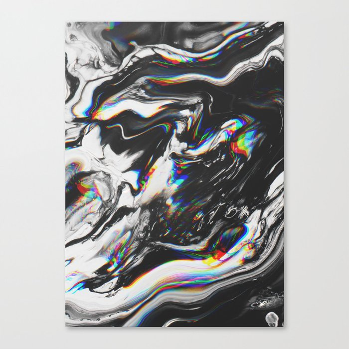 STOP MAKING THE EYES AT ME Canvas Print