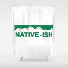 Native-ish Shower Curtain